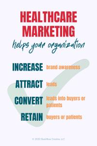 benefits of healthcare marketing