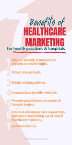 benefits of healthcare marketing for clinics and hospitals