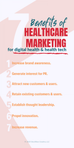 benefits of healthcare marketing for digital health companies