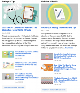 healthcare marketing - goodrx blog